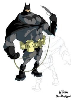 Batman by Stupidojal