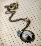 Werewolf necklace by BeautySpotCrafts