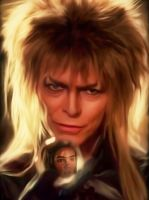 David Bowie in the movie Labyrinth by petnick