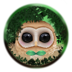 Rowlet by Suthay