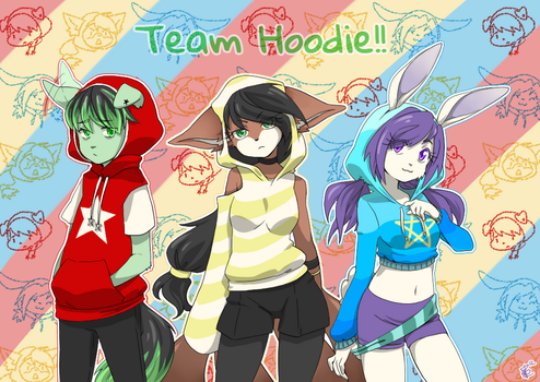 Team Hoodie -Contest- by LeChioo