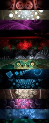 Third Pack Fractals by Sunchales