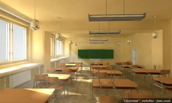 Classroom - textured by SwItCHns