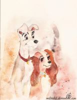 Lady and the Tramp by mikriDeb