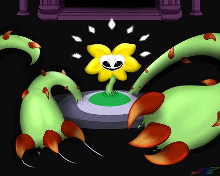 Flowey Attac by YenriStar
