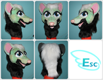 Kamon the Skunk -  Modified Foam Base by Eternalskyy