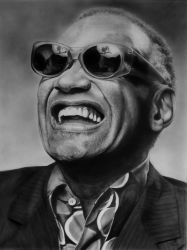 Ray Charles 2 by miualpainter