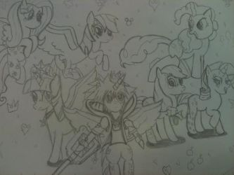 Kingdom Hearts : Heart of Friendship (season 5) by XrosBrony