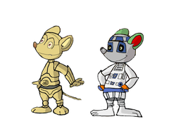 Stan and Yolli droids by vasilia95