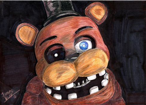 Withered Freddy by TheJamesWolf