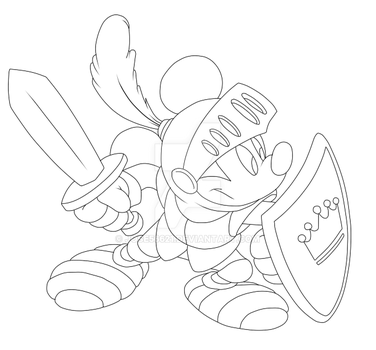 Mickey Mouse Prince - Sketch by Jose56621