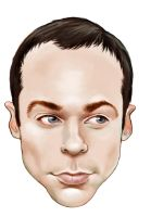 Sheldon Cooper by enginemonkey