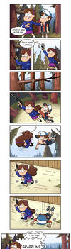 Grappling hook! by markmak
