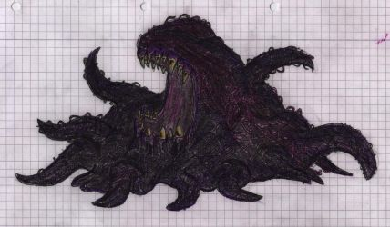 A Shoggoth. by FreakyM