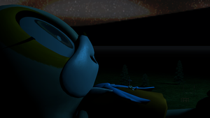 TailsReam - A Giant's Starry Night (SFM) by TheRaiBone12