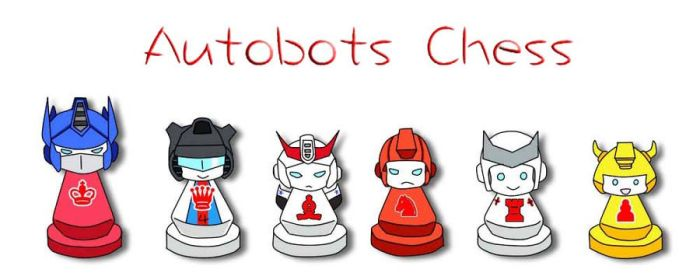 Autobots CHESS by des107