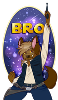 Bro(n) Solo Badge by MonsterMeds