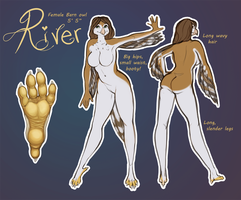 River Reference by little-owlette