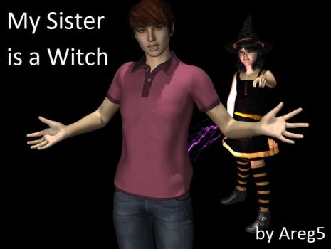 My Sister is a Witch by areg5