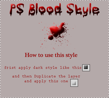 PS Blood style by aNaReeM