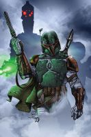 Boba Fett and the Bounty Hunters by BDStevens