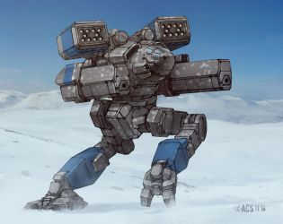Battletech - Mad Cat Mk II by Shimmering-Sword