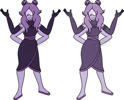 SUOC Fusion - Lavender Chalcedony by GustavoTheHuman