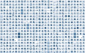 Albook extended blue 710 icons by StopDreaming
