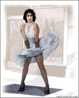 Picture Show (Monroe/Rocky Horror) by Rabittooth
