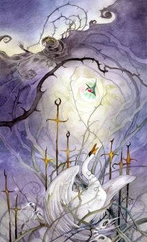 Eight of Swords by puimun