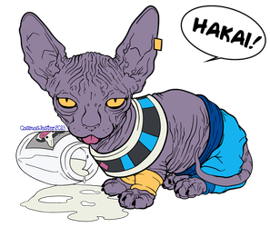 Beerus god of destruction by SeigneurRuei