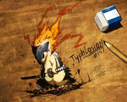 Typhlosion level: Badass by LazyAmphy