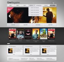 CineMagazine Web Template | ThemeFabrika by alisarikaya