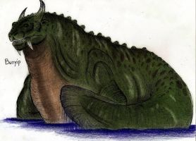 Cryptids - Bunyip by MonsterKingOfKarmen