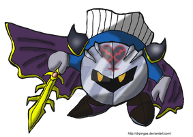 Metaknight Kingdom Hearts JR by DrPingas