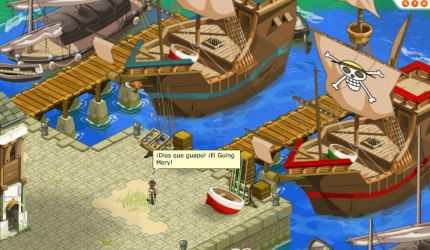 Going Merry in Dofus by Joramchameleon