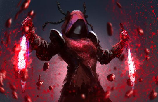 Blood Power by conorburkeart