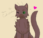 Sam Cat-chester by oh-no-Castiel