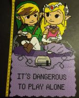 It's Dangerous To Play Alone by 8bitcrafting