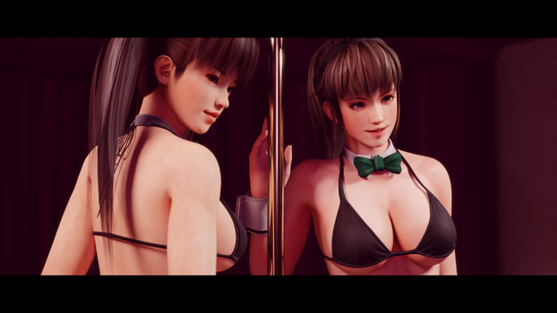 Hitomi and Leifang Bunnygirls 2 by Chrissy-Tee