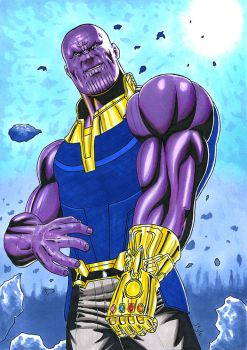 Thanos by The-Masterstyle