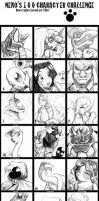 100 Character Challenge by Marauder6272