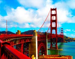 San Francisco: Golden Gate Bridge by JUKeeUS