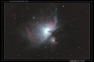 The Great Orion Nebula by octane2