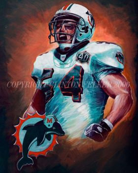 NFL MIAMI DOLPHINS ZACH THOMAS by cgfelker