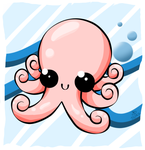 Cute Octopus by jedec