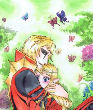 Princess and the Dragon (Chapter 1) Volga x Zelda by Scriva on ...