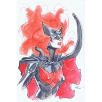 batwoman con sketch SDCC 2018 by MichaelDooney
