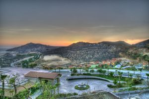 HDR:Sunset from pueblo bonito by avatare