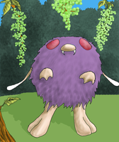 Venonat is hungry by Arbre